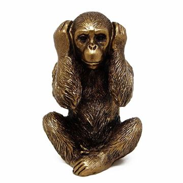 Imagem de Macaco Sábio - 13cm
