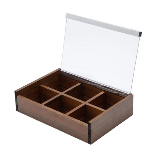 Imagem de Caixa de Madeira para Chá - Woodart