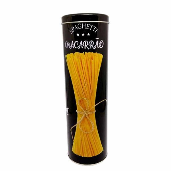 Imagem de Pote de Metal Spaghetti - 10 x 29cm