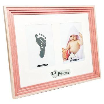 Imagem de Porta Retrato Recém Nascido - Princesa