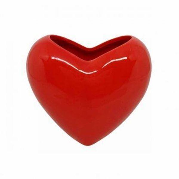 Imagem de Cachepot Coração Vermelho