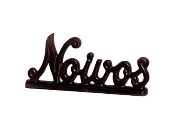 Imagem de Escultura Noivos Cores - 28cm