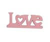 Imagem de Escultura Love Coração Cores - 26cm
