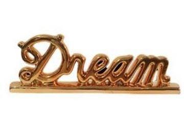 Imagem de Escultura Dream Metalizado - 35cm