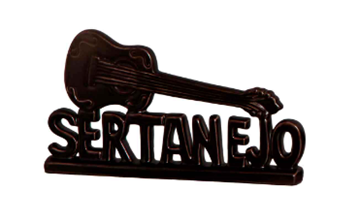 Imagem de Escultura Sertanejo Cores - 30cm