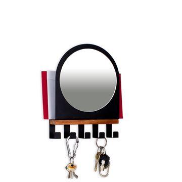 Imagem de Porta Chaves e Cartas com Espelho - Geguton