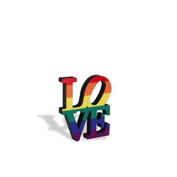 Imagem de Escultura de Mesa Love Wins - Geguton