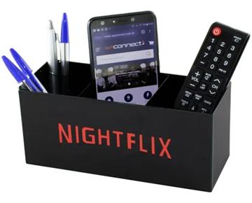 Imagem de Organizador Porta Controle Nightflix - Geguton