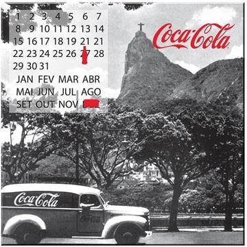 Imagem de Calendário Magnético Coca-Cola Rio de Janeiro - Urban