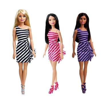 Imagem de Barbie Fashion Vestido Listrado - Mattel