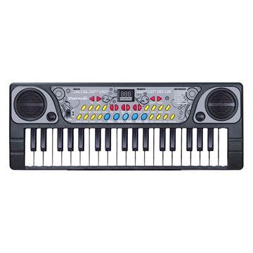 Imagem de Teclado com Microfone 41cm - DM Toys