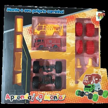 Imagem de Aprenda a Montar Carrinhos - DM Toys