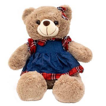 Imagem de Ursa de Pelúcia Vestido - Fofy Toys