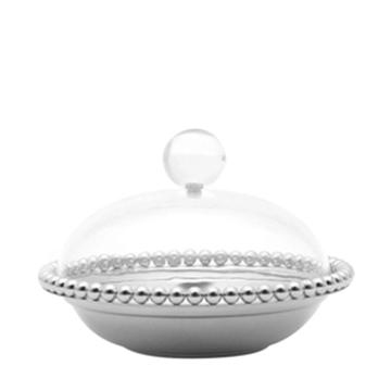 Imagem de Bomboniere Balls - Bowl de Zamac Prata - 15cm x 10cm