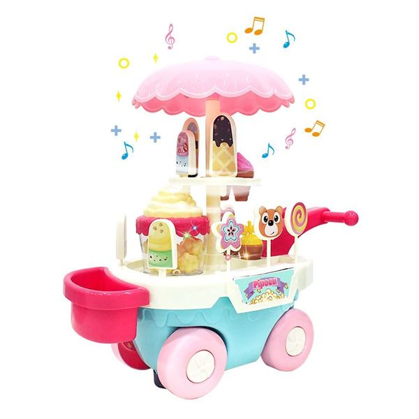 Imagem de Carrocinha de Pipoca - Bate e Volta - DM Toys