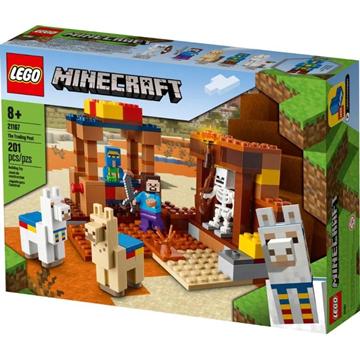 Imagem de Lego Minecraft - O Posto Comercial
