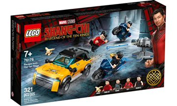 Imagem de LEGO Super Heroes Marvel - Fuga dos Dez Anéis