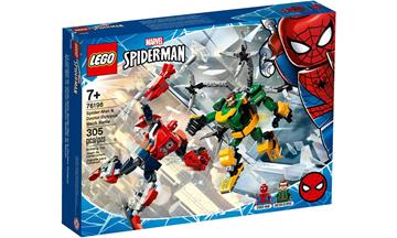 Imagem de LEGO Super Heroes Marvel - Combate de Robôs: Homem-Aranha e Doutor Octopus