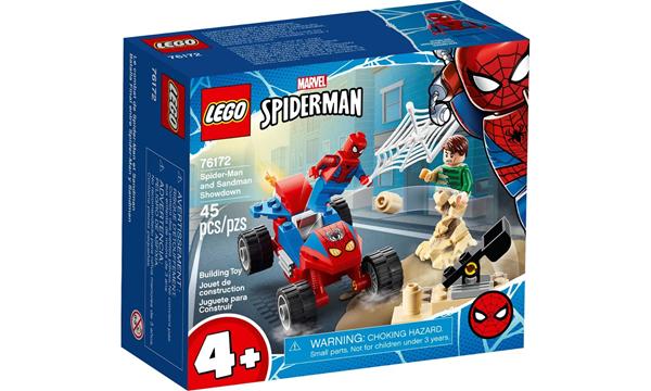 Imagem de LEGO Super Heroes Marvel - Confronto do Homem-Aranha e do Homem-Areia