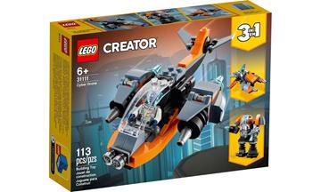 Imagem de LEGO Creator 3 Em 1 - Ciberdrone