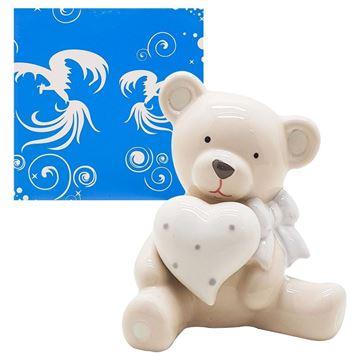 Imagem de Urso de Porcelana - 11cm