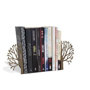 Imagem de Aparador de Livros Árvore Ouro - Geguton