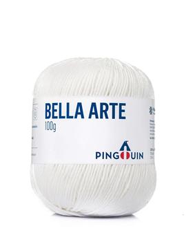 Imagem de Linha Pingouin Bella Arte 100g - 0002 Branco