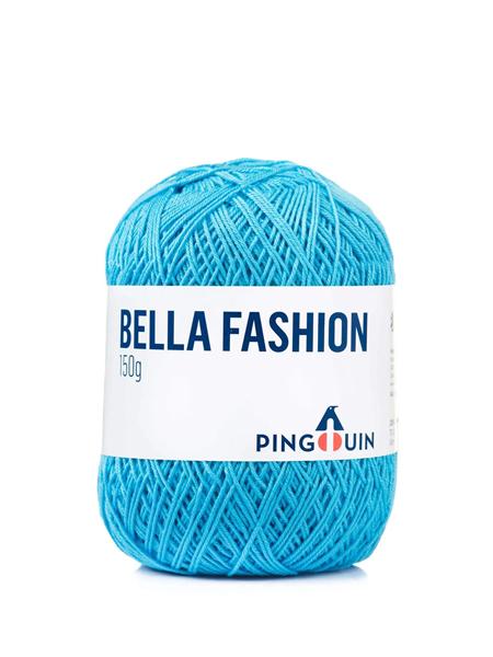 Imagem de Linha Pingouin Bella Fashion 150g - 0531 Azul Safira