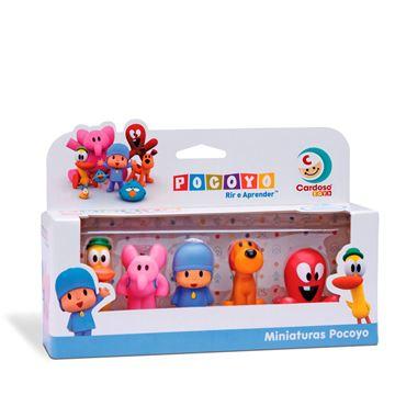 Imagem de Miniaturas Pocoyo - Cardoso Toys