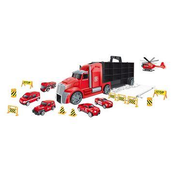 Imagem de Caminhão Maleta Bombeiro - DM Toys