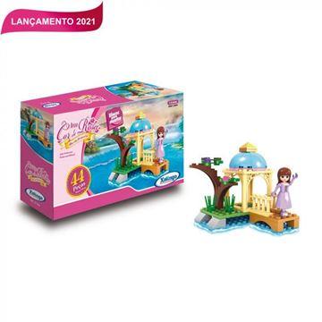 Imagem de Blocos para Montar - Ilha da Princesa 44 peças - Xalingo