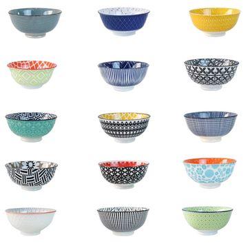 Imagem de Bowl de Cerâmica Decorado 200ml - Estampas Sortidas