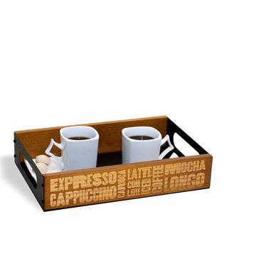 Imagem de Bandeja Tipos de Café - Geguton