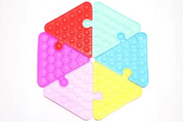Imagem de Pop It Triângulo - Fidget Toys