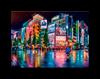 Imagem de Quebra-Cabeça Tóquio Neon - 1000 Peças - Toyster
