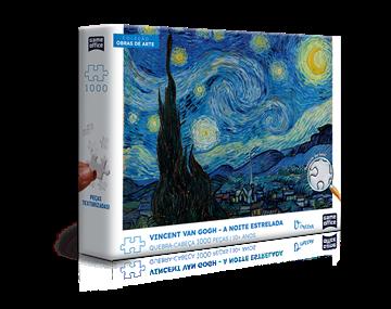 Imagem de Quebra-Cabeça Van Gogh Noite Estrelada - 1000 Peças - Toyster - Copiar