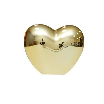 Imagem de Coração Dourado Pequeno - 5cm